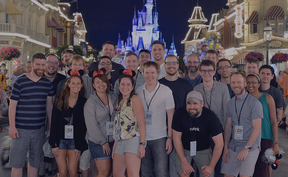 Wildbit team retreat in Orlando, FL. April 2016.